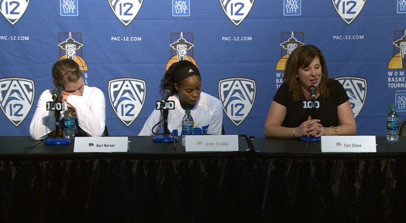 Cori Close on UCLA not losing any confidence after loss to OSU