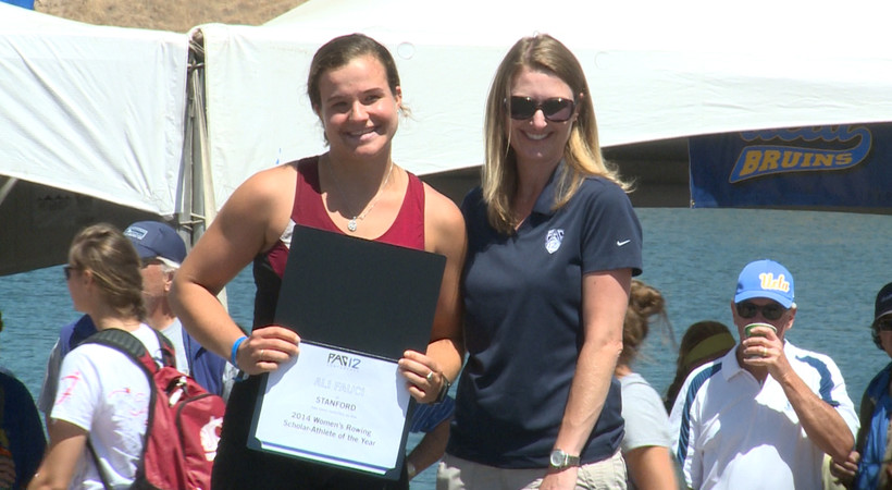 Scholar-Athlete of the Year Ali Fauci: Rowing has made me a better student