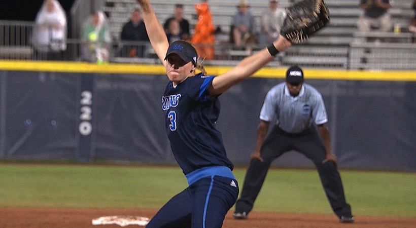 Highlights: UCLA softball's WCWS bid ends in extras against Auburn