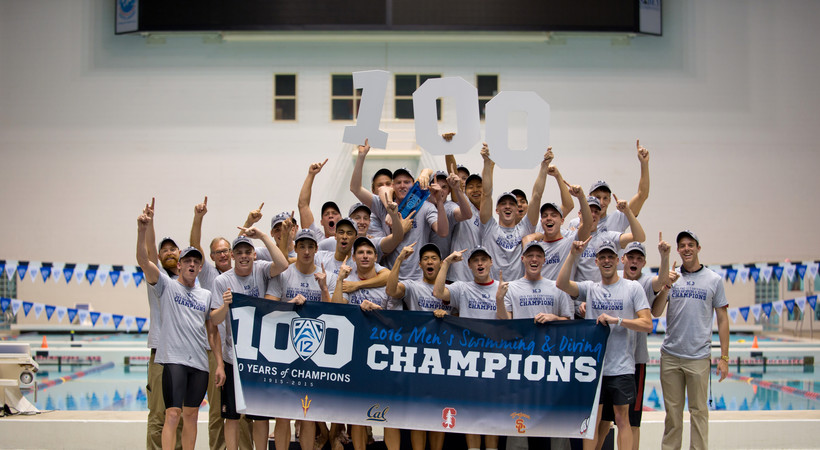 Recap: Stanford men's swimming takes first Pac-12 Swimming Championship since 2012
