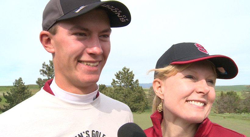 Stanford's Maverick McNealy after winning Pac-12 men's golf title: 'It was the best round of my life'