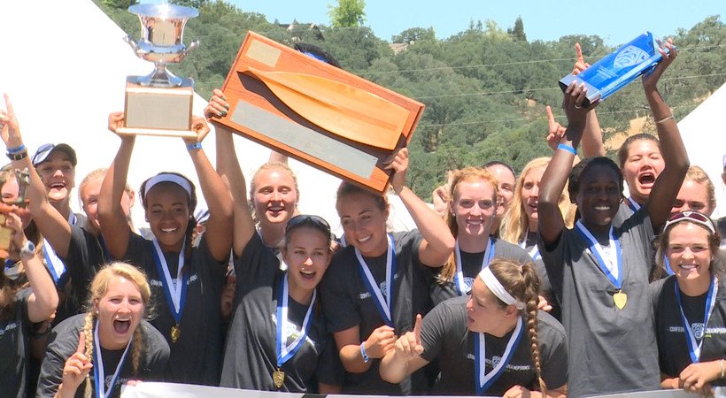 Stanford women's rowing captures first Pac-12 title in program history