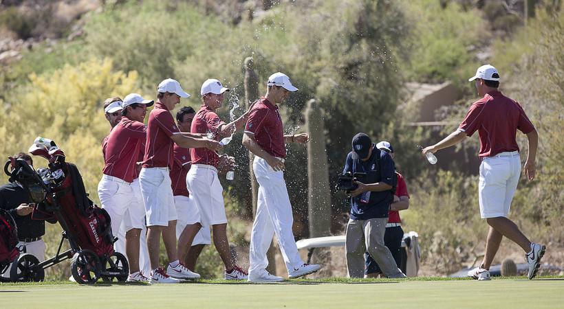 Stanford captures men's golf title