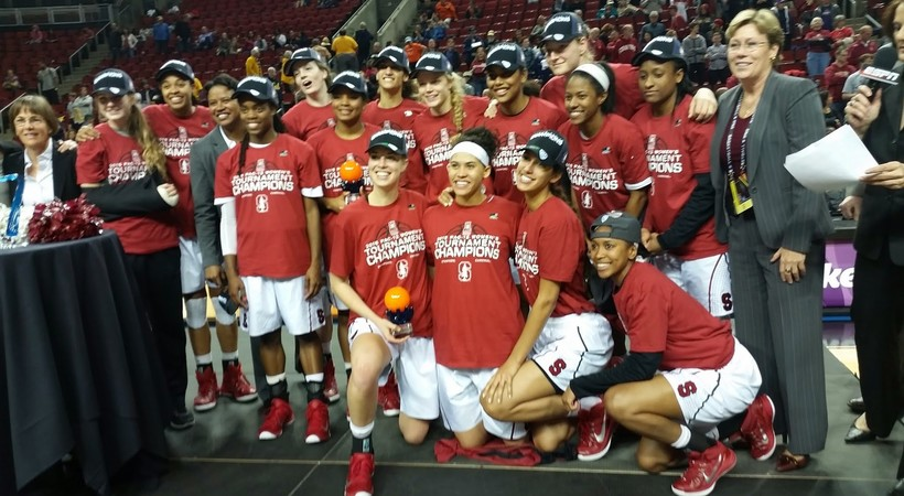 Stanford Women's Basketball wins Pac-12