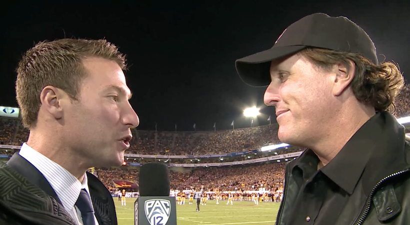Video: Phil Mickelson talks about the resurgence of Sun Devil football