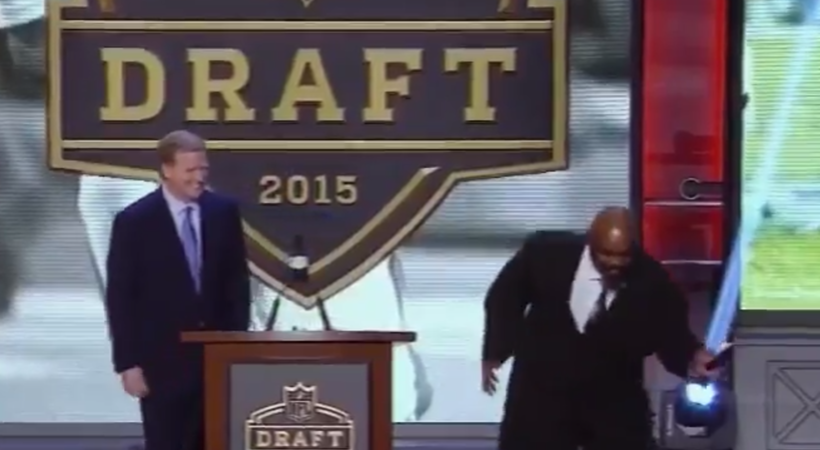 Ickey Woods loves that the Bengals selected Jake Fisher