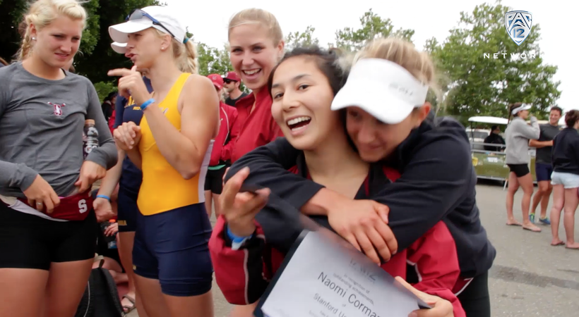 Stanford's Naomi Cornman wins Pac-12 Women's Rowing Scholar-Athlete of the year