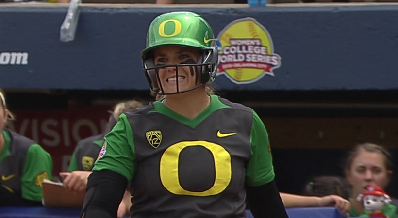 Highlights: Oregon softball eliminated from Women's College World Series by Alabama
