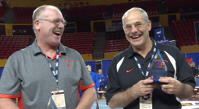 Pac-12 All-Century Team shows up in numbers for wrestling championships