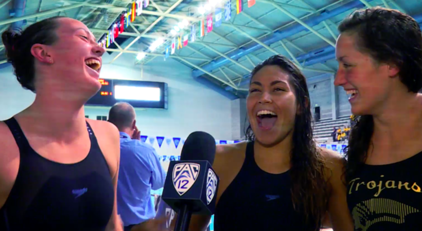 Relive all the fun of the 2016 Pac-12 Swimming and Diving Championships