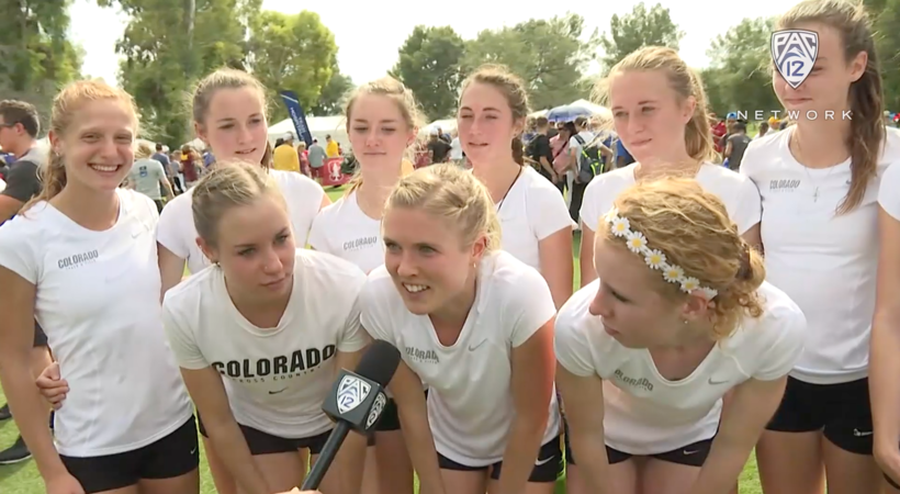 Colorado women's cross country celebrates second consecutive title