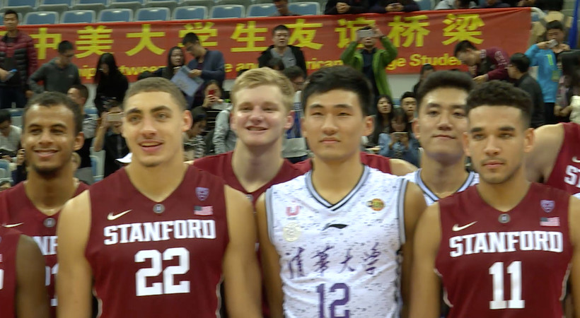 Stanford, Harvard bring brands, basketball to Chinese universities