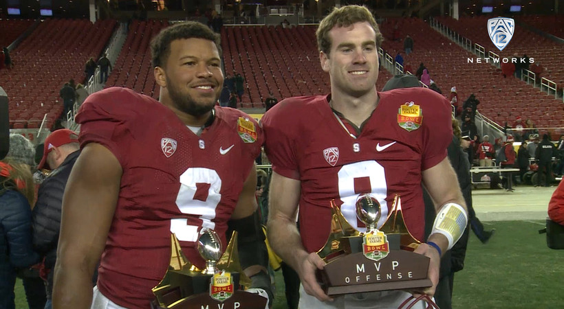 Stanford's Kevin Hogan reflects on MVP performance in first game since his father's death
