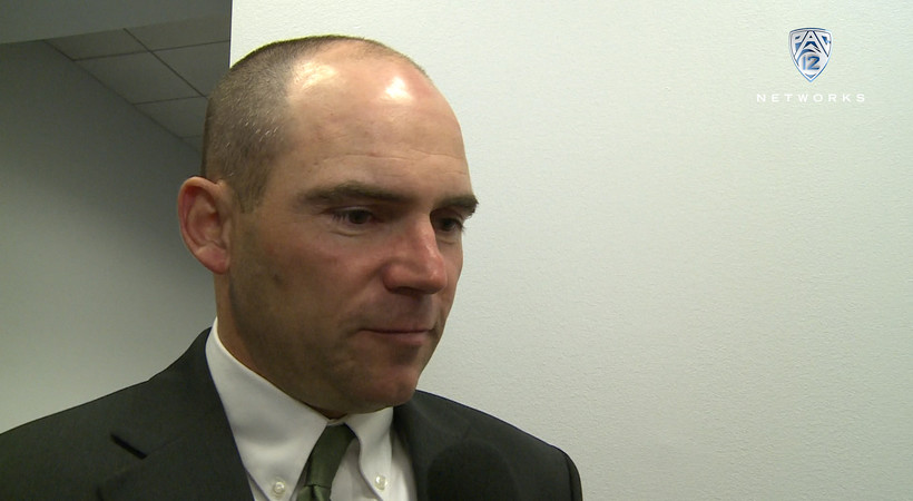 Oregon head coach Mark Helfrich after Ducks fall in CFP National Championship