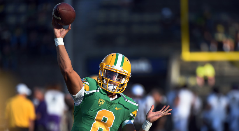 best sneakers 8459f 4b977 Marcus Mariota, Oregon Ducks to be featured in Pac-12 ...