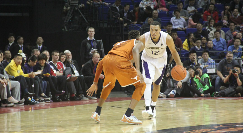 Washington men's basketball tops Texas in 2015 Pac-12 China Game