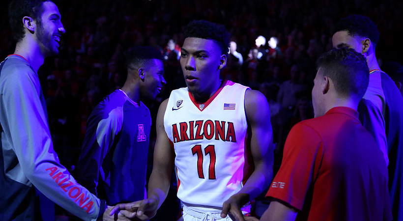 Arizona guard Allonzo Trier's absence due to positive PED test, report says