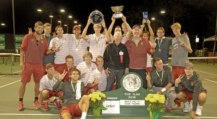 USC wins 2015 Pac-12 Men's Tennis Championship