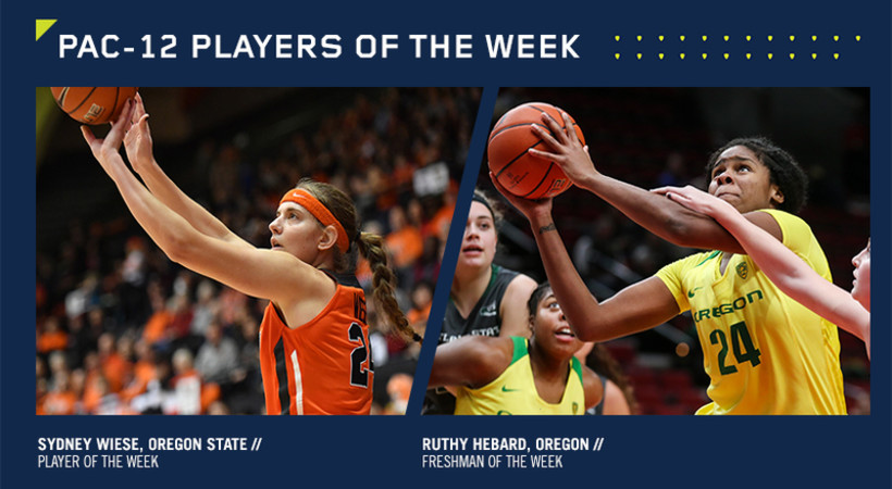 Pac-12 announces women's basketball players of the week | Pac-12