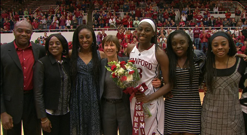 Stanford S Ogwumike Named Pac 12 Woman Of The Year Pac 12