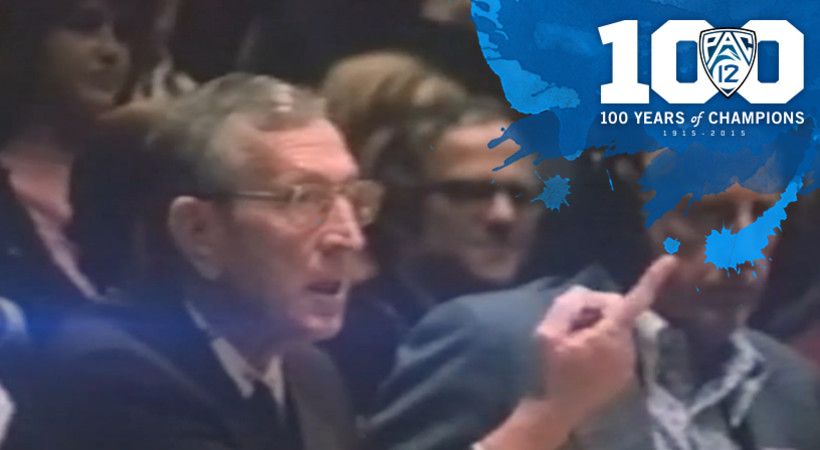 UCLA's John Wooden selected as Pac-12 Men's Basketball Coach of the Century