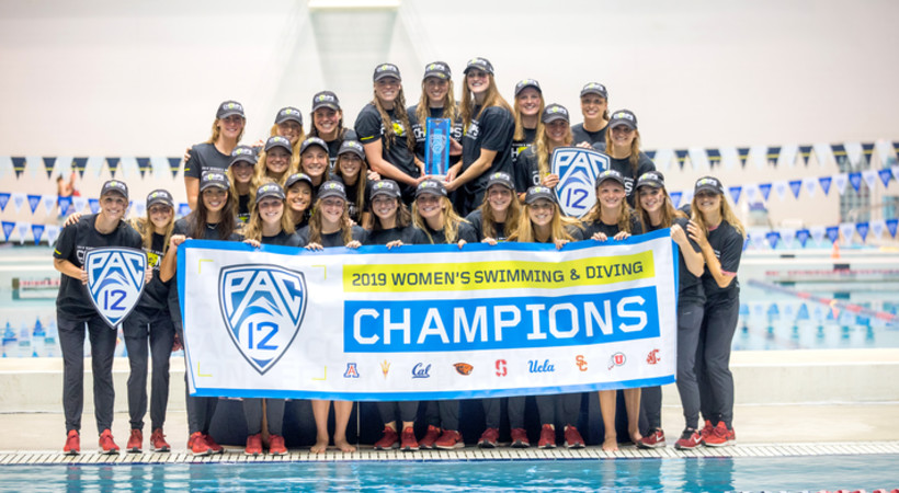 Stanford Completes Three-Peat at Pac-12 Women's Swimming and Diving & Men's Diving Championships