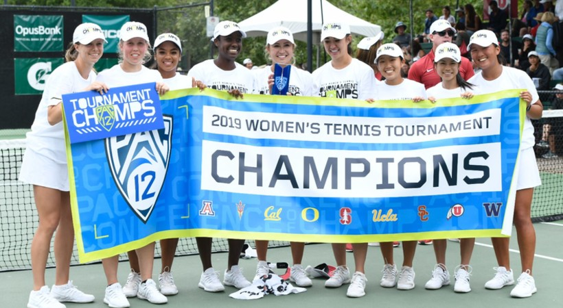 2019 Pac-12 Women's Tennis Champions Stanford