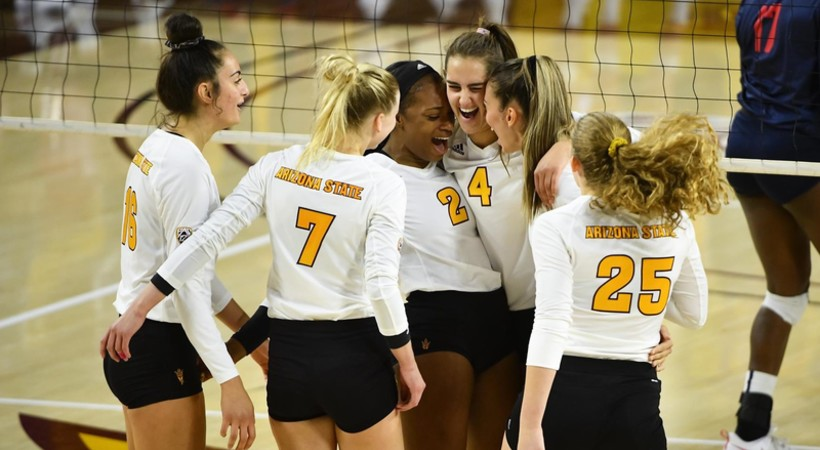 First Half of Pac-12 Volleyball Action Wraps Up This Week
