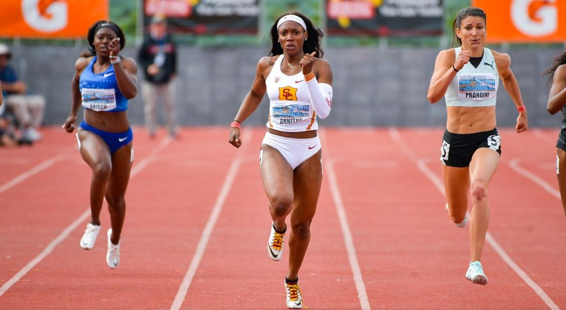 USC sprinter Angie Annelus 'hungry and motivated' entering 2020 Olympic year