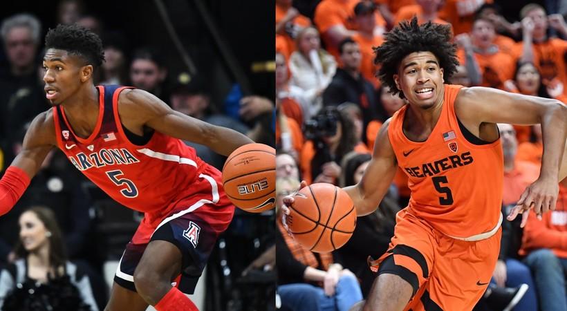 Arizona Wildcats vs Oregon State Beavers Men s Basketball - February ... 71f00fea3