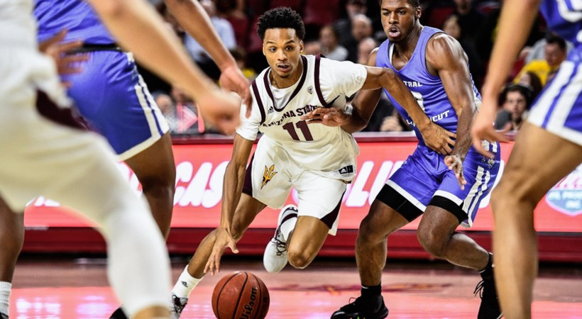Highlights: Arizona State men's basketball downs Central Connecticut 90-49 in home opener