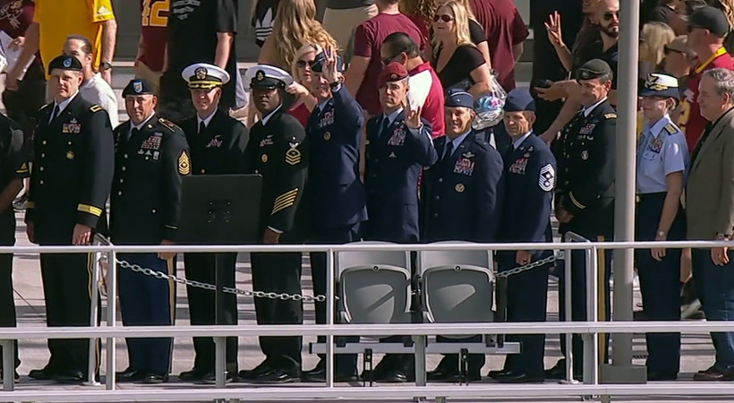 How Arizona State's 'Chairs of Honor' serve as reminders of POW-MIA service members and their families
