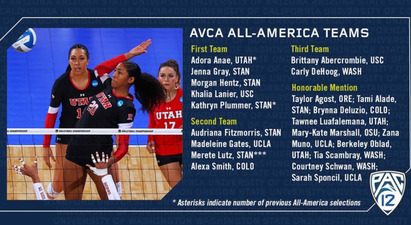 DeJarld Named AVCA Honorable Mention All-American
