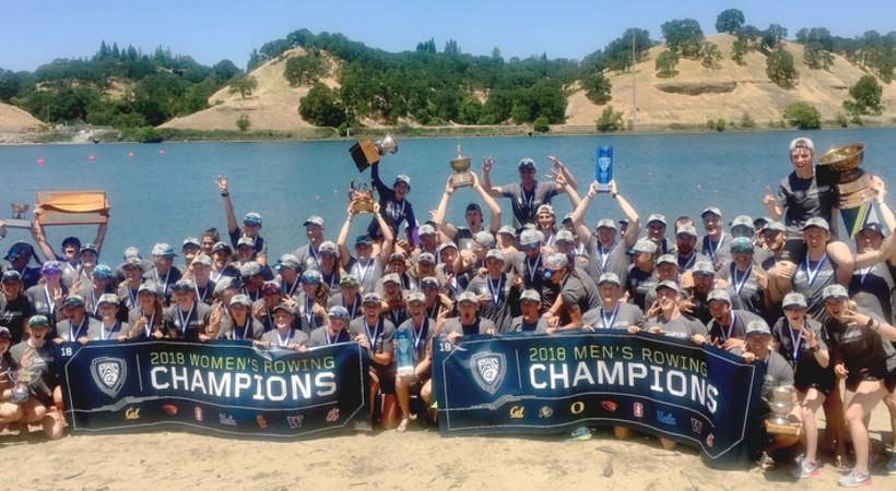 Washington repeats as Pac-12 Men's and Women's Rowing Champions