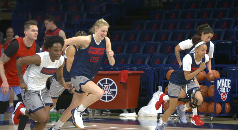 Even with diabetes, Arizona forward Cate Reese excels athletically on 'Our Stories' quick look