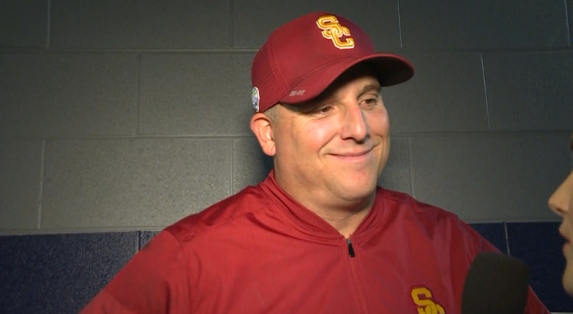 2017 Cotton Bowl Classic: USC's Clay Helton and Sam Darnold reflect on senior class