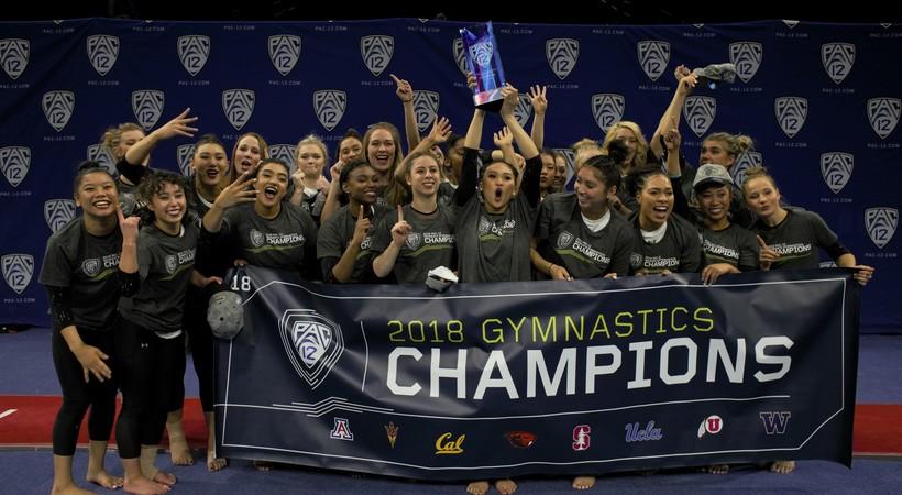 UCLA Wins 2018 Pac-12 Gymnastics Championship | Pac-12