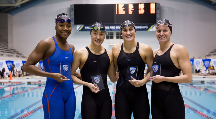 NCAA & American records highlight day 3 of Pac-12 Women's Swimming & Diving and Men's Diving Championships