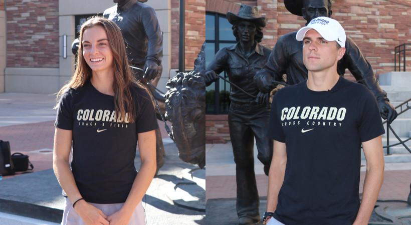Dani Jones, Joe Klecker draw inspiration from standout CU runners who came before them