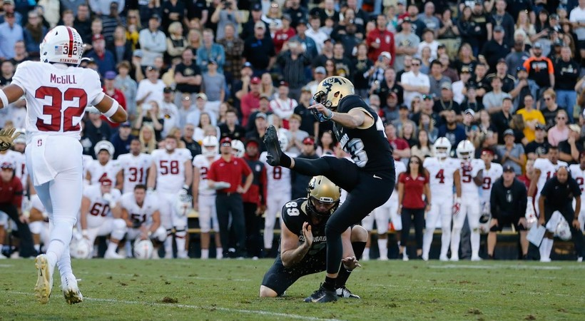Evan Price's clutch kick wins it for Colorado on quick look of 'The Drive'