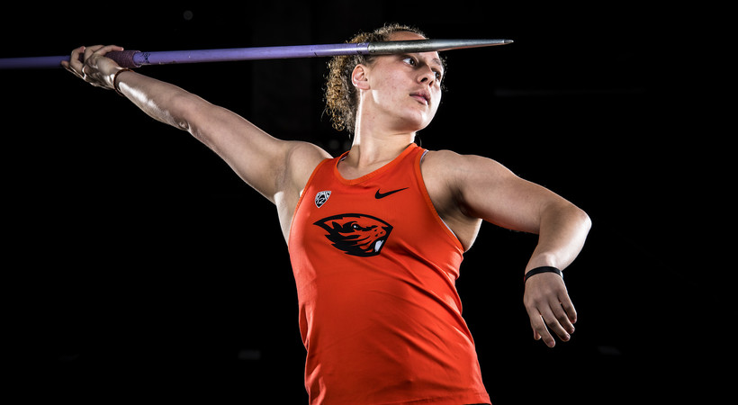 Why Oregon State thrower Destiny Dawson's siblings call her a 'sister hero'