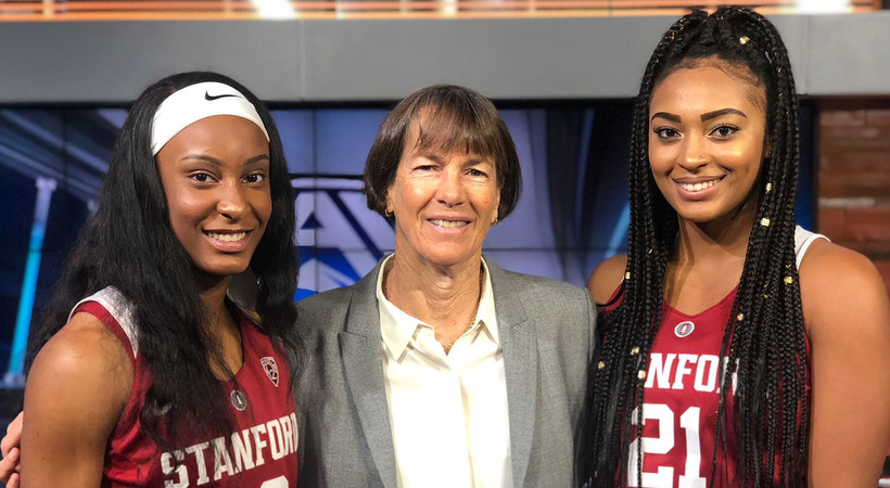 2018 Pac-12 Women's Basketball Media Day: Tara VanDerveer, legendary head coach and water skier