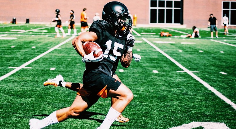 Oregon State Football Training Camp 2019 Photos Social