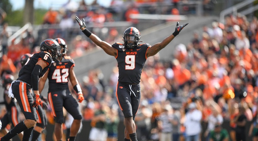 Highlights: Oregon State football collects first win by dominating Cal Poly