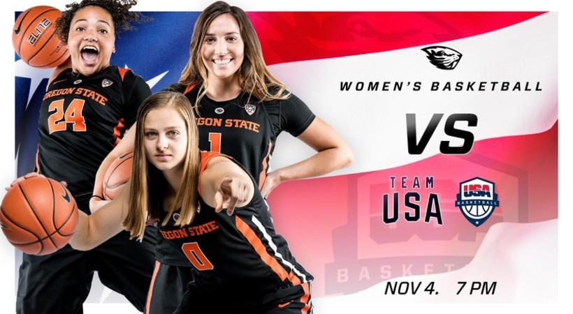 Scott Rueck, Destiny Slocum and Aleah Goodman outlook OSU's exhibition game versus Team USA