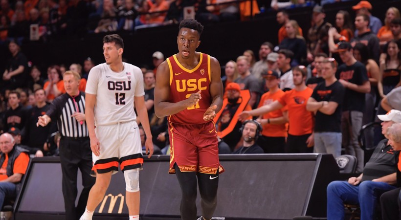 Highlights: USC men's basketball showcases dominance in 75-55 win over Oregon State