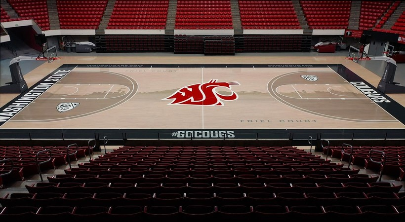 WSU unveils new home court design for Beasley Coliseum (WSUCougars.com)