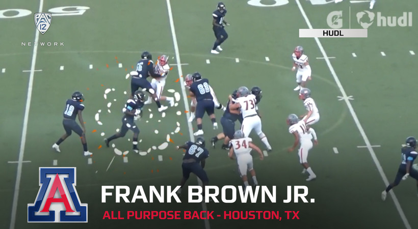 2020 National Signing Day: Arizona all-purpose back Frank Brown Jr. highlights