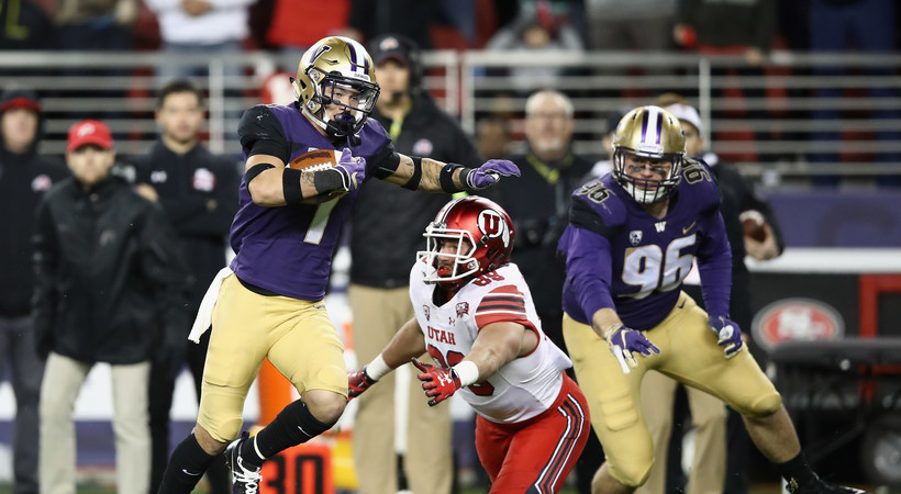 2018 Pac-12 Football Championship Game: Byron Murphy's pair of interceptions lift Washington over Utah