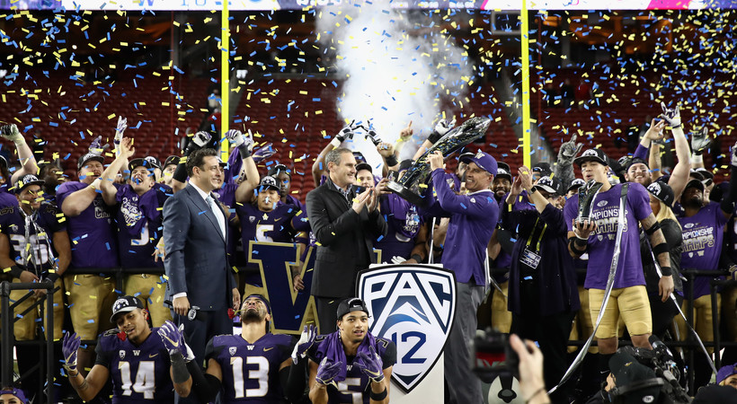 Highlights: Washington football punches Rose Bowl ticket with gritty win over Utah in Pac-12 title game